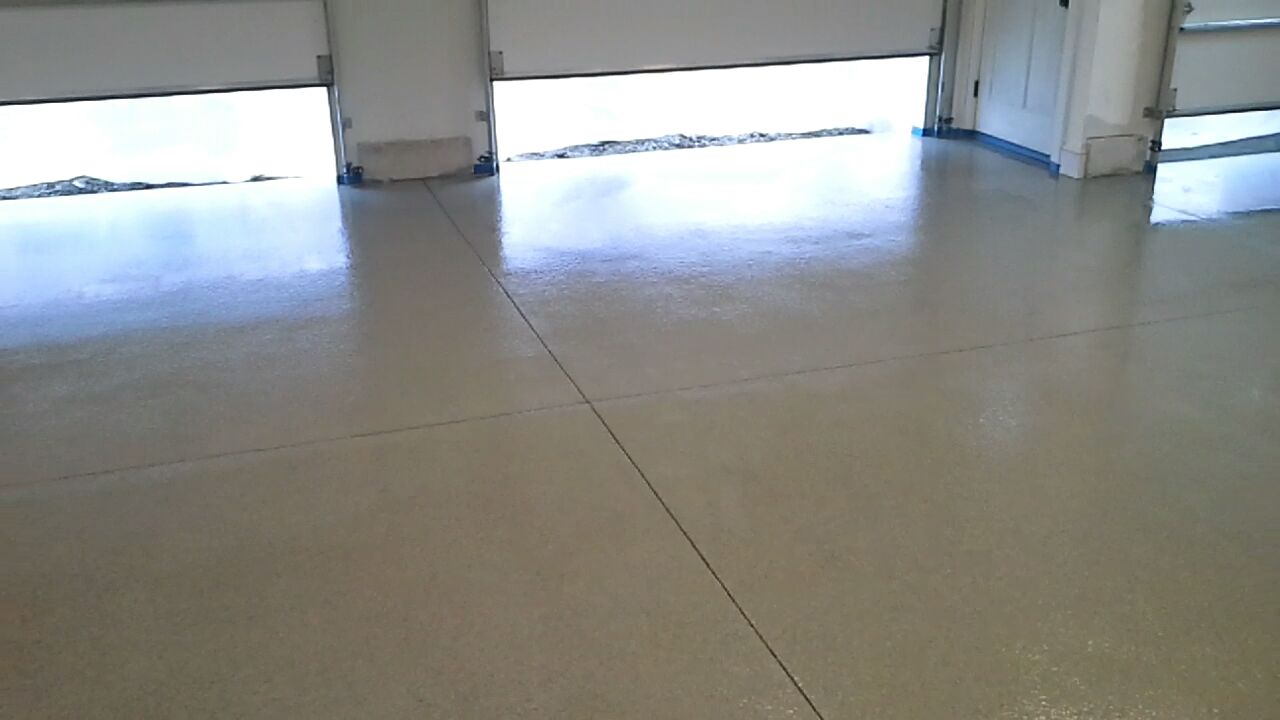 epoxy floor in Boothbay, Me