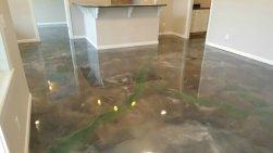 Reflector enhancer epoxy floor in Maine