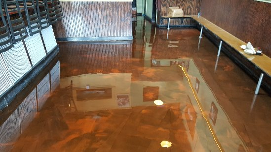 Reflector enhancer epoxy coating in Old Orchard Beach, Me.