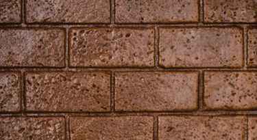 New brick running bond pattern