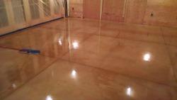 concrete floor staining Mount Desert Island, Me