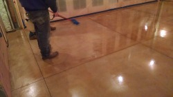 concrete floor staining MDI