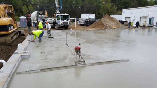 Concrete floor in Freeport Me