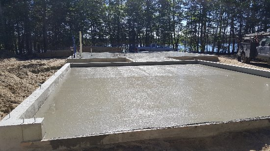 Concrete floor in Harpswell, Me