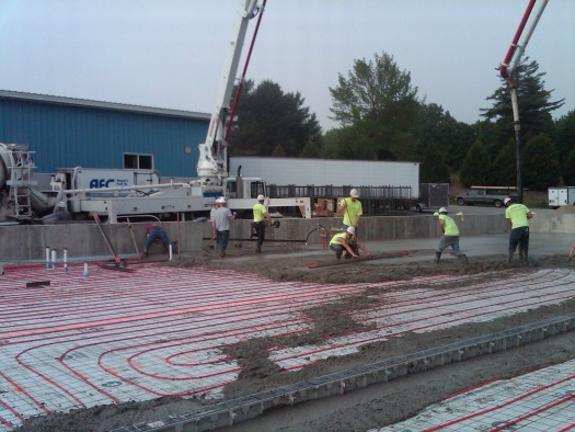Concrete floors in Maine