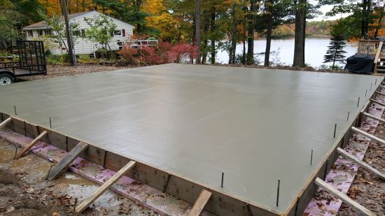 Concrete Slab Contractor For Maine