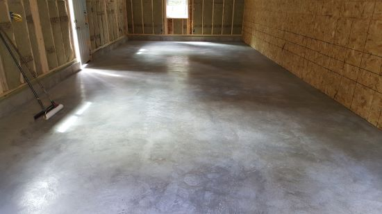 Epoxy floor coating in Augusta, Me.
