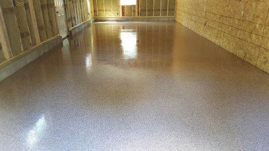 Garage floor epoxy in Augusta, Me