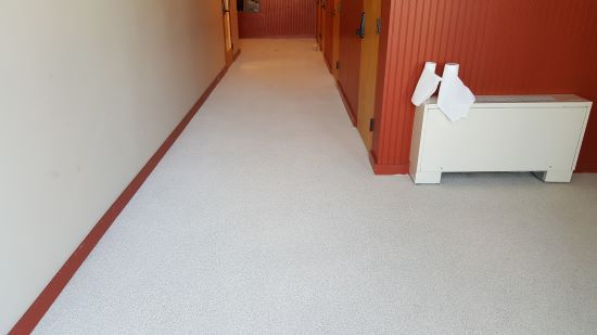 Epoxy floor coating in Falmouth, Me