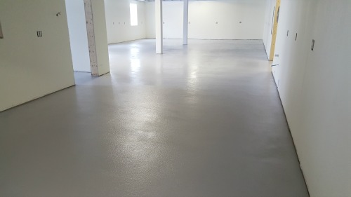 epoxy floor in Lewiston, Me