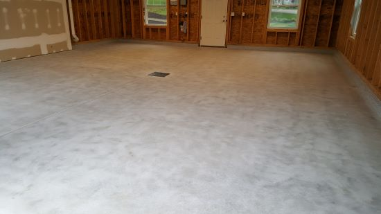 Epoxy floor in Lewiston Me