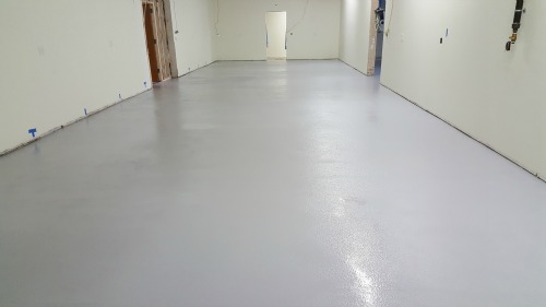 epoxy floor in Lewiston, Me.
