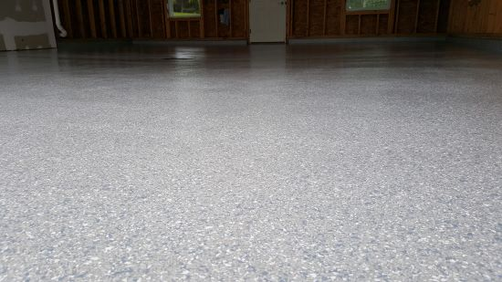 Epoxy flooring in Lewiston, Me