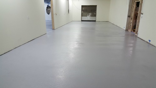 Concrete Floor Epoxy In Maine Installed By Day S Concrete