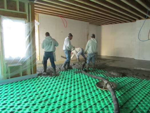Days concrete floors com home page for Concrete floors in house
