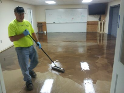 Epoxy Floor In Livermore Me Installed By Day S Concrete