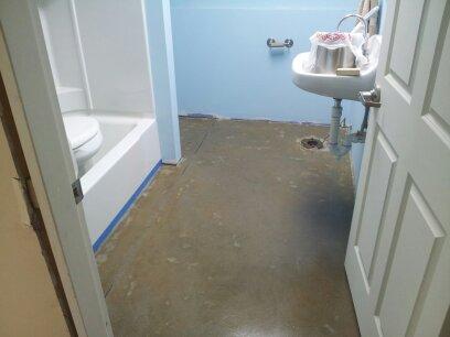 Livermore, Me epoxy floor