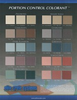 color chart for concrete overlays
