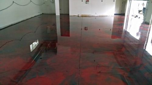 Reflector Enhancer Epoxy Floor By Day S Concrete Floors