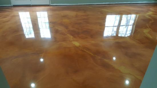 Matte Finish Epoxy : Reflector enhancer epoxy floor in norridgewalk me