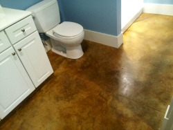 stained concrete bathroom floor concrete floor stain maine concrete staining contractor 20638