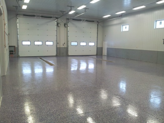concrete floor epoxy in Maine