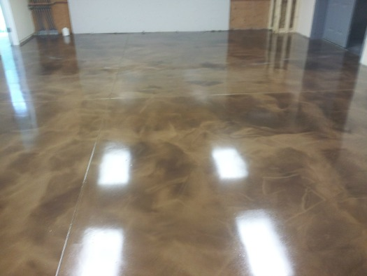 Concrete floor epoxy in maine installed by day 39 s concrete for Cement paint colors for floors