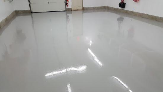 Epoxy floor contractor in Scarborough, Me