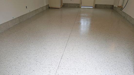 Epoxy flooring in Topsham, Me